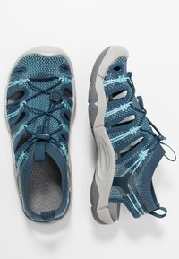 Keen - EVOFIT 1 - Walking sandals - navy/bright blue - 1