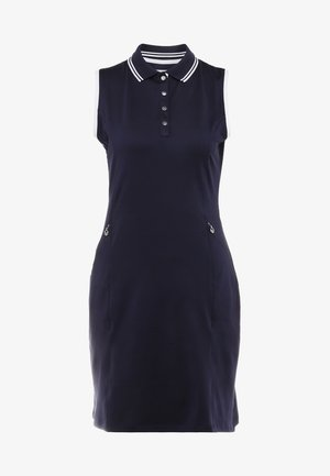 GOLF DRESS WITH TIPPING - Sports dress - peacote
