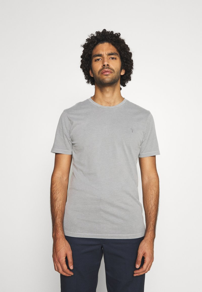 AllSaints - OSSAGE CREW - Basic T-shirt - parma grey