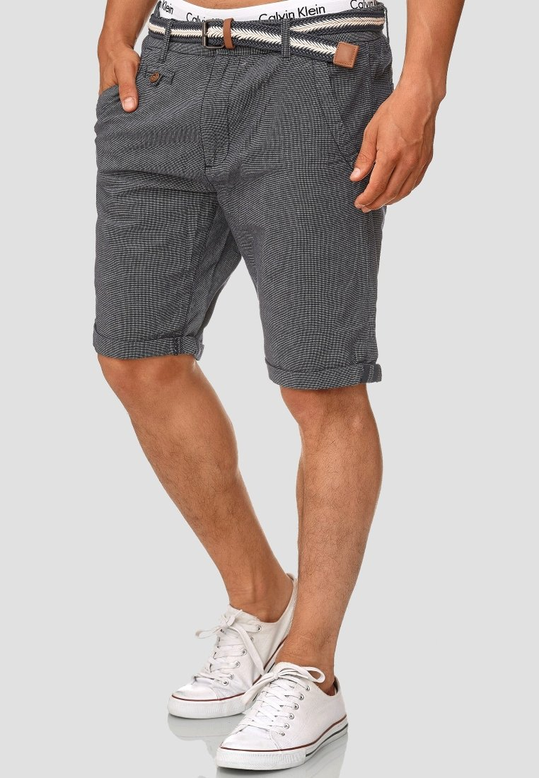 INDICODE JEANS - CASUAL FIT - Shorts - blue denim