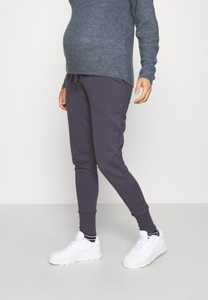 OLMMAGGI LONG CUFF PANT - Tracksuit bottoms - graphite