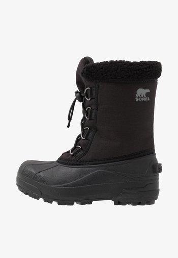 CUMBERLAN - Snowboot/Winterstiefel - black