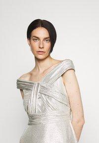 Lauren Ralph Lauren - QUINCY SLEEVELESS EVENING DRESS - Abito da sera - silver - 3