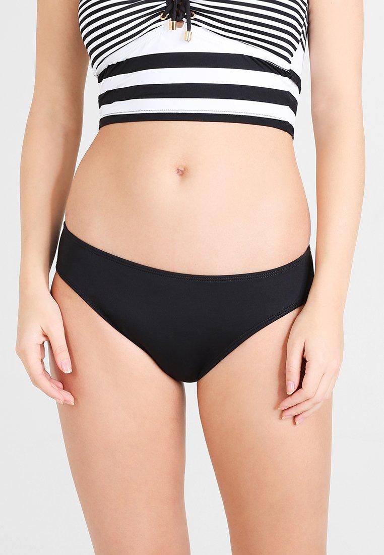 Women SOLID HIPSTER LOGO PLATE - Bikini bottoms