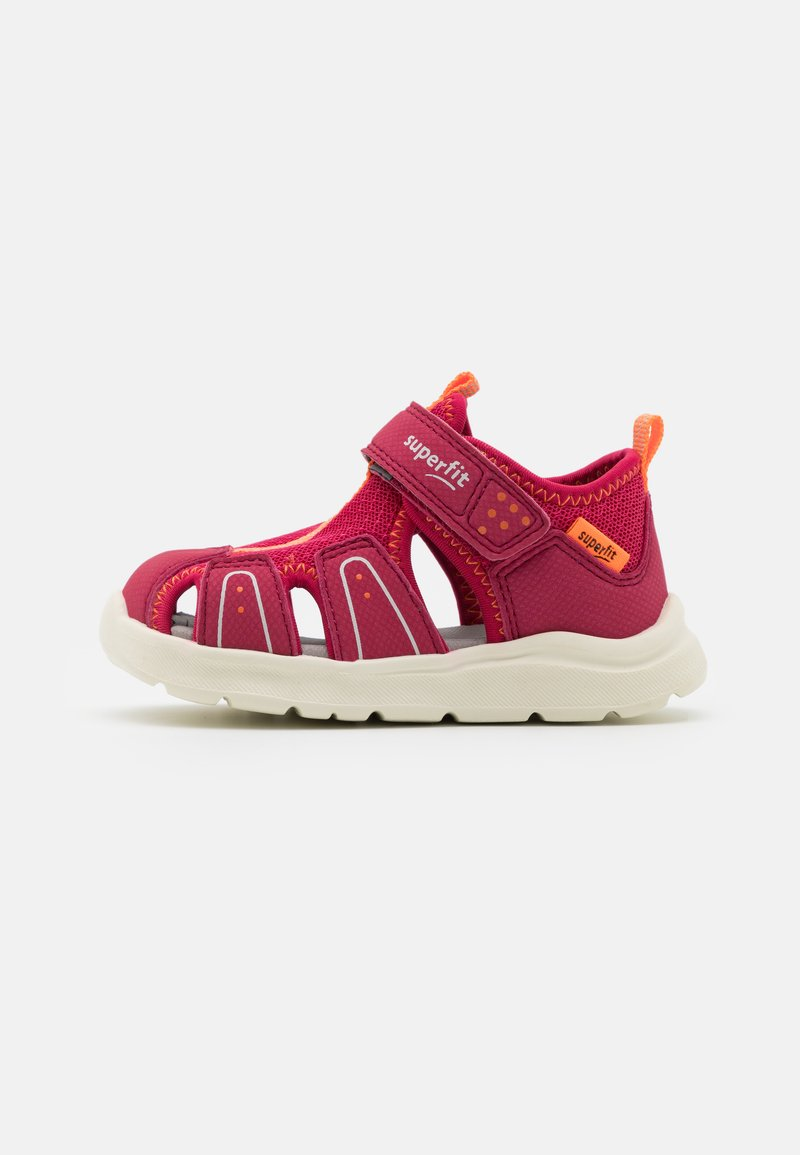 Superfit - WAVE - Sandals - rot/orange