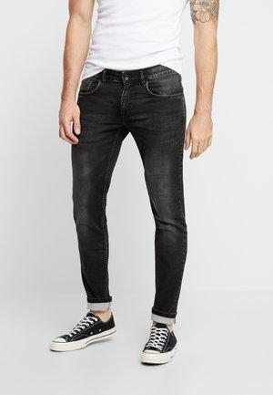 STOCKHOLM TERRY - Slim fit jeans - light grey