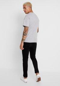 Diamond Supply Co. - DOWNTOWN SIGNATURE - Print T-shirt - heather grey - 2