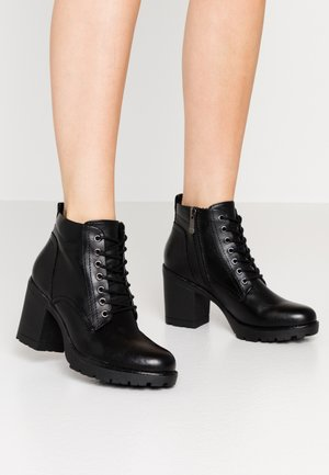 Ankelboots - black antic