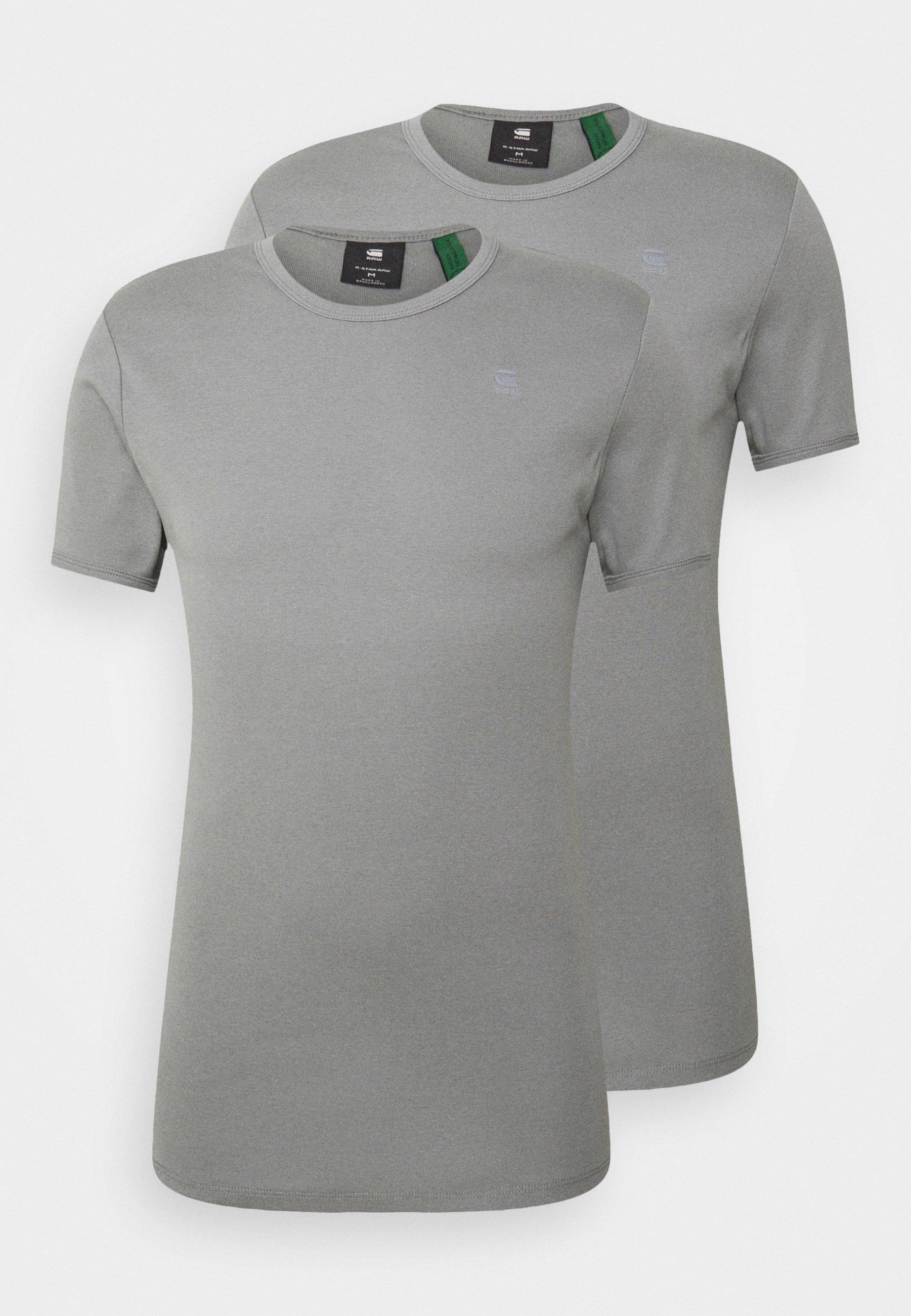 Hombre BASE 2 PACK  - Camiseta básica