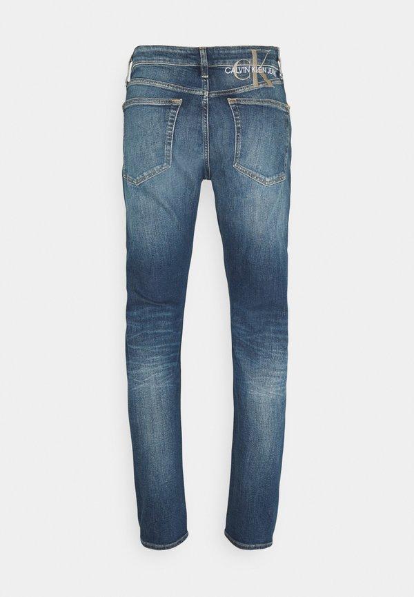Calvin Klein Jeans SLIM TAPER - Jeansy Zwężane - denim light/jasnoniebieski Odzież Męska ZJBO