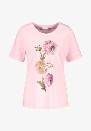 1/2 ARM - Print T-shirt - rosé