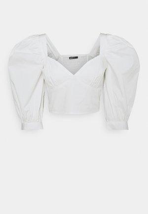 MADELEINE BLOUSE - Camiseta estampada - offwhite