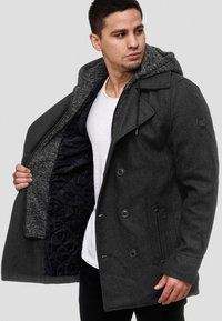 INDICODE JEANS - Short coat - anthracite - 0