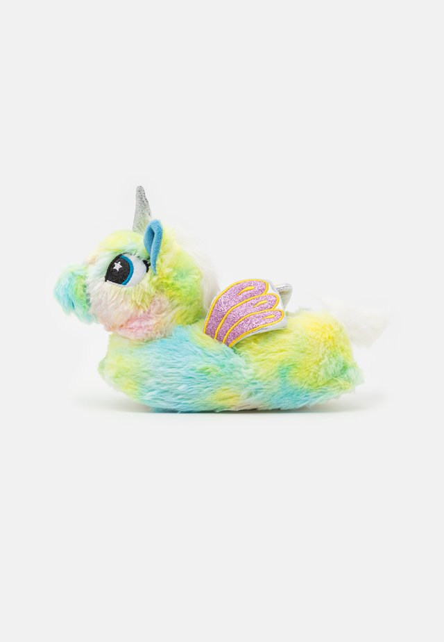 UNICORN SLIPPERS - Pantuflas - multicolor