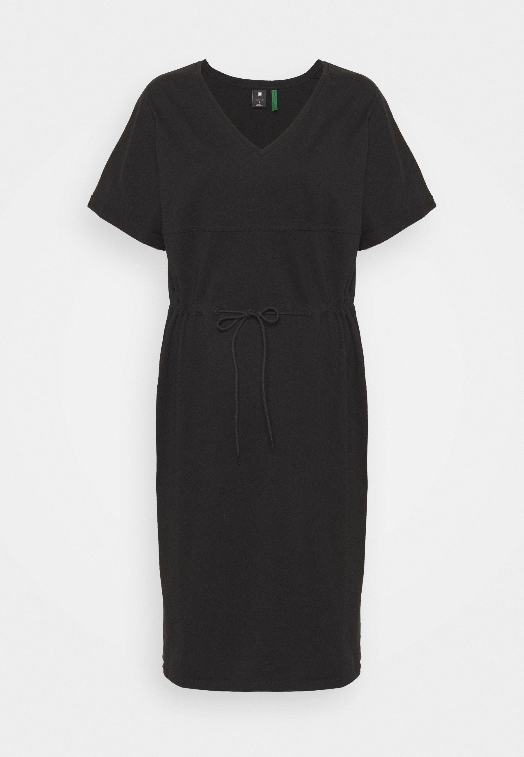 Women ADJUSTABLE WAIST DRESS - Jersey dress