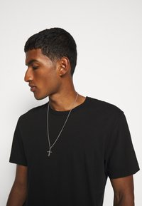 Northskull - EXCLUSIVE CROSS NECKLACE UNISEX - Halskette - silver-coloured - 0