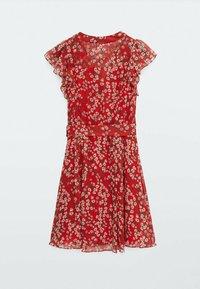 Massimo Dutti - Day dress - red - 6