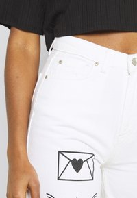 Trendyol - Jeans relaxed fit - white - 4