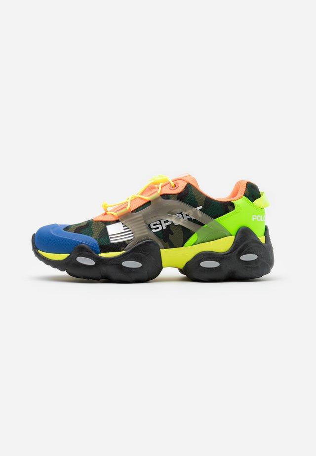 RLX TECH ATHLETIC SHOE - Sneakersy niskie - pacific royal/multicolor