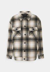Mennace - FLECK CHECK - Summer jacket - black/ecru - 0