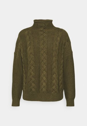 GRENVILLE MOCKNECK - Jumper - heather grass