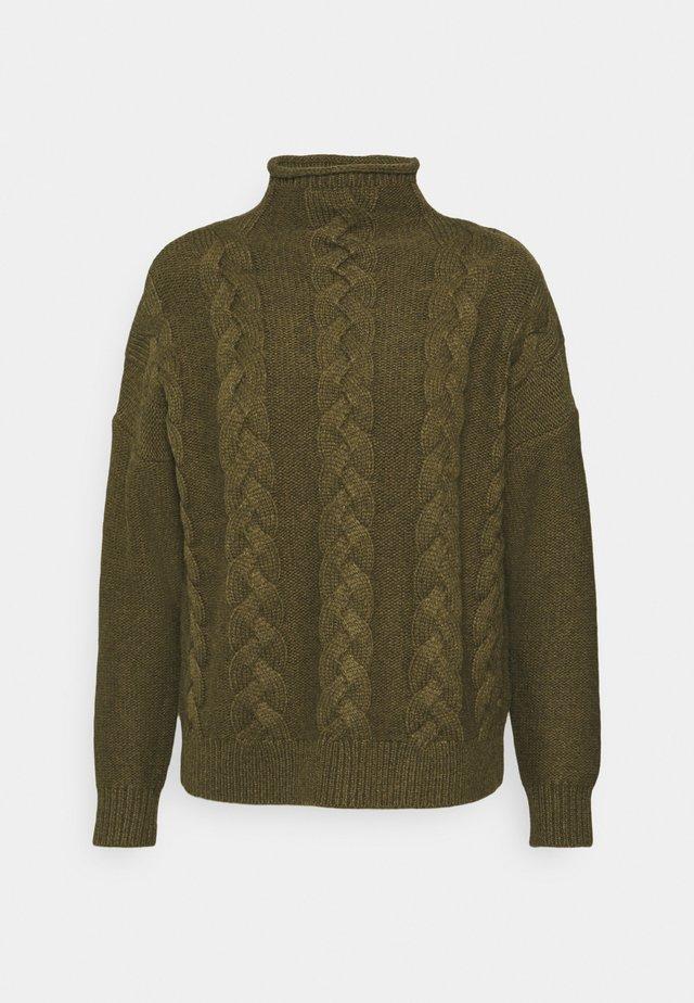 GRENVILLE MOCKNECK - Sweter - heather grass