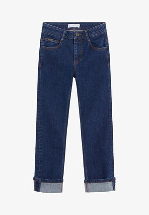 REGULAR - Straight leg jeans - donkerblauw