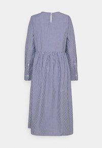 Selected Femme - SLFMIRABELLA STRIPED  DRESS  - Day dress - bright white - 1
