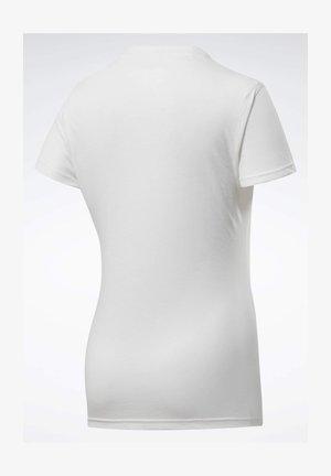 REEBOK  READ GRAPHIC T-SHIRT - Print T-shirt - white
