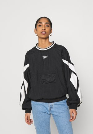 TWIN VECTOR CREW - Sweatshirt - black/alabaster