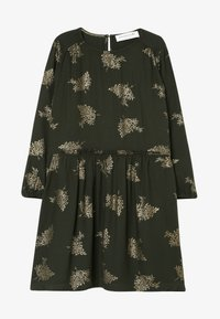Rosemunde - DRESS LS - Day dress - green/gold - 2