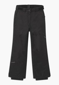 Icepeak - CELIA UNISEX - Snow pants - black - 2