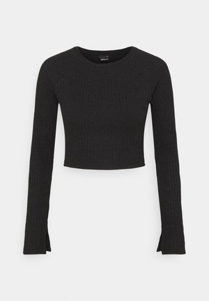 KINSLEY - Long sleeved top - black