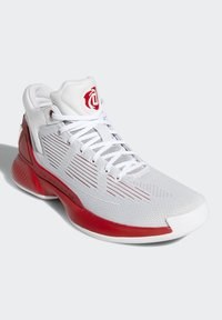 adidas Performance - D ROSE 10 SHOES - Basketball shoes - grey/red/white - 3