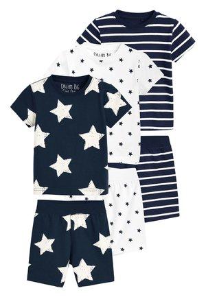 NAVY 3 PACK STAR AND STRIPE SHORTS PYJAMAS (9MTHS-12YRS) - Pyjama set - blue