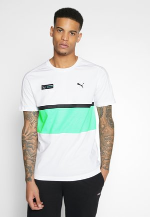 AMG TEE - Print T-shirt - white