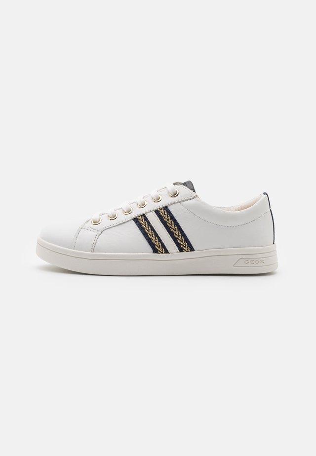 DJROCK GIRL - Sneakers basse - white/navy