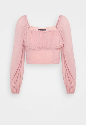 PUDRA - Blouse - powder pink