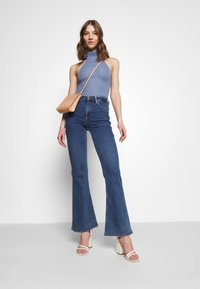 Fashion Union - NORA  - Top - blue texture - 1