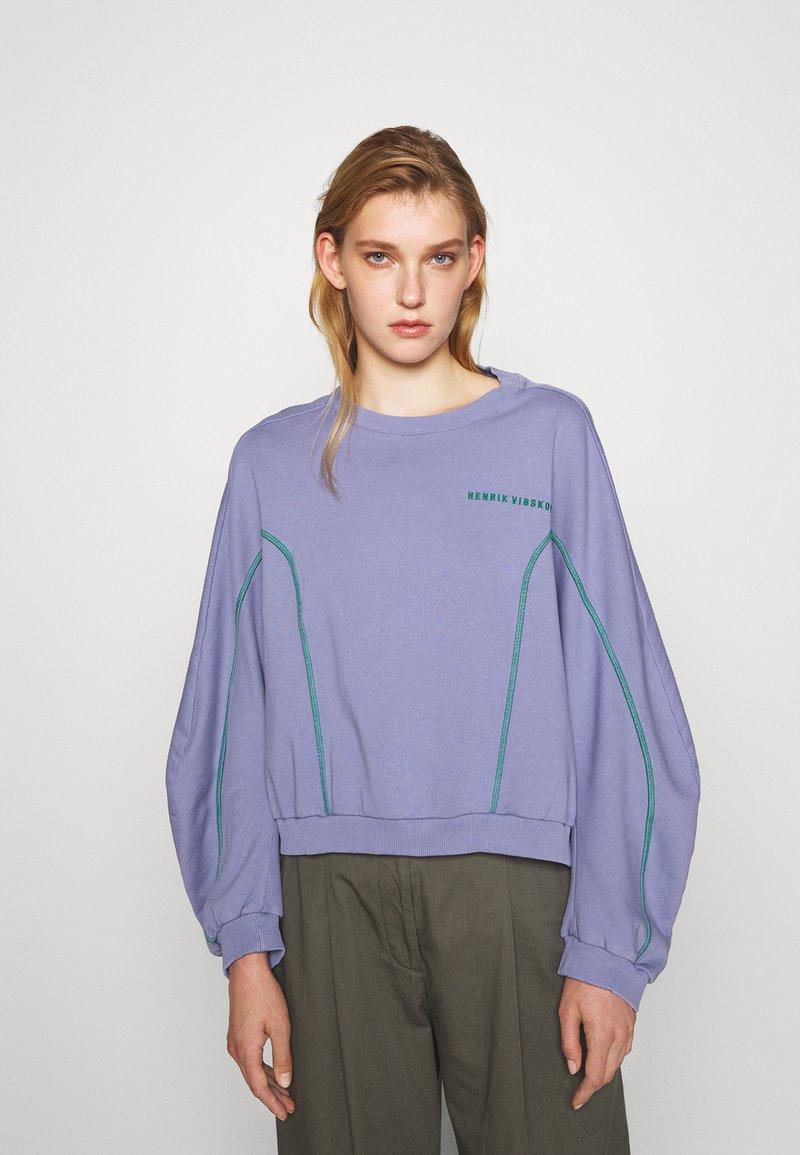 Henrik Vibskov - FUNNEL  - Sweatshirt - purple