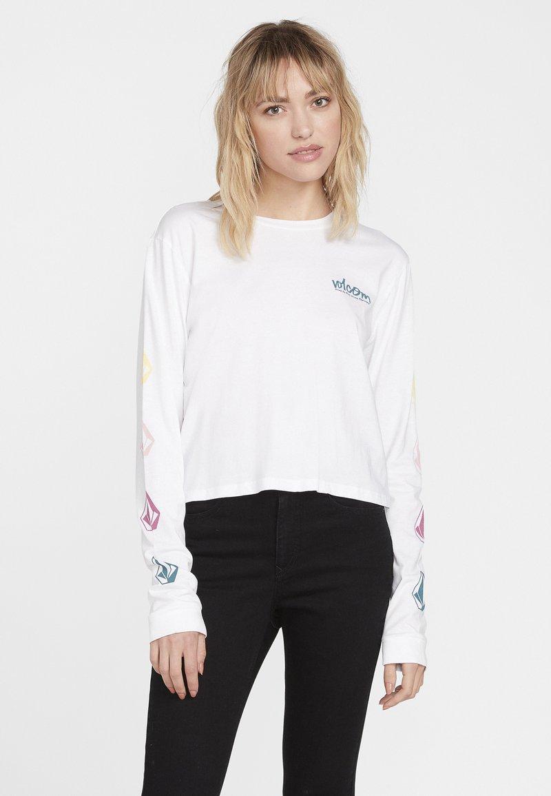 Volcom - STONES LS - Long sleeved top - white