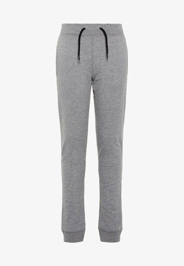 NKMSWEAT - Pantalones - grey melange
