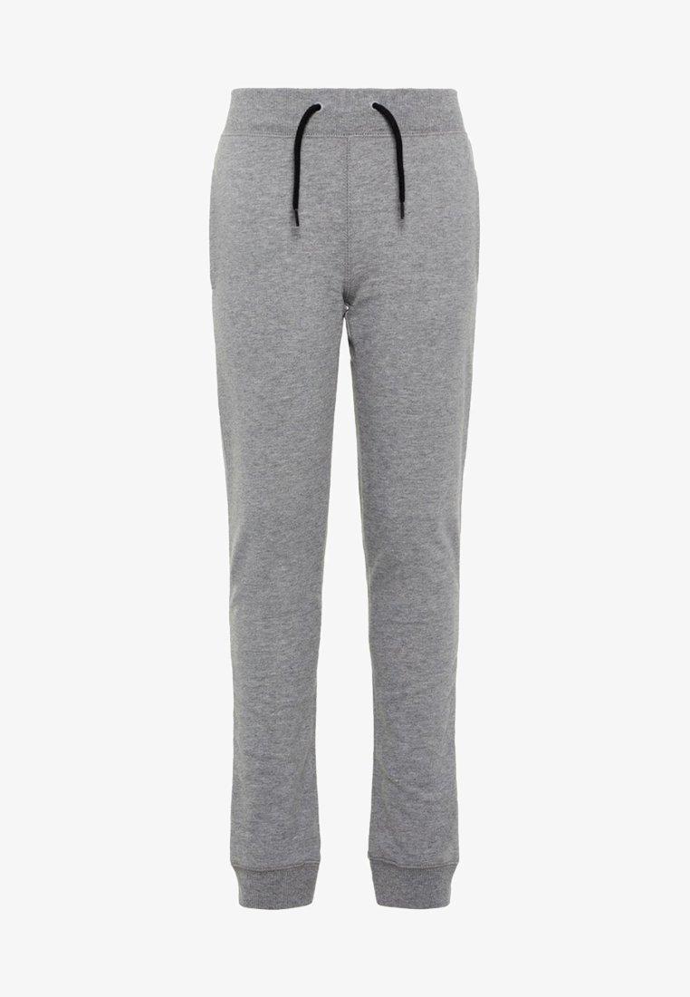 Name it - NKMSWEAT - Spodnie materiałowe - grey melange