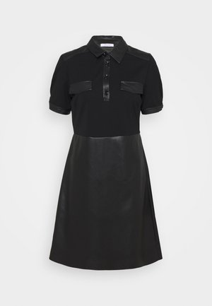 ERICA - Robe en jersey - nero
