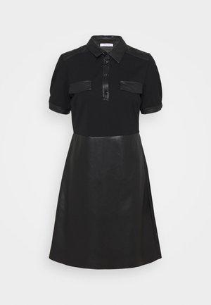 ERICA - Jersey dress - nero