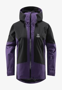 Haglöfs - LUMI JACKET - Ski jacket - purple rain/true black - 5