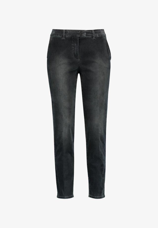 MIT USED EFFEKTEN CITYSTYLE - Slim fit jeans - anthrazit mit use