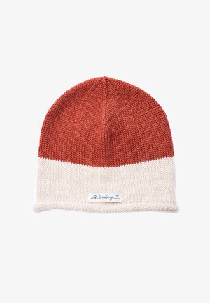 MARVIN - Beanie - rust off white
