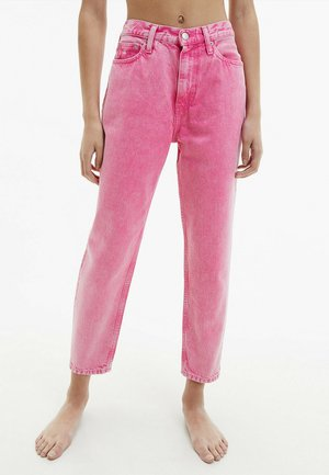 Jeans Tapered Fit - denim pink
