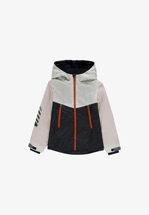 FUNKTIONELLE REGEN MIT KAPUZE - Outdoor jacket - navy